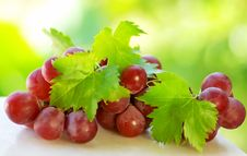 Free Bunch Of Grapes Royalty Free Stock Image - 20277336