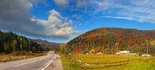 Free Colorful Autumn Landscape Royalty Free Stock Image - 20277456