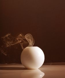 Free Candle And Smoke Royalty Free Stock Image - 20277756
