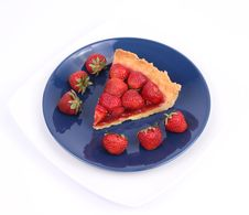 Free Strawberry Tart Royalty Free Stock Photos - 20278358