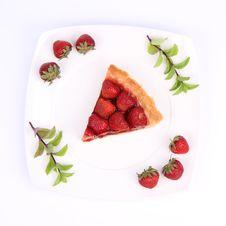 Free Strawberry Tart Royalty Free Stock Photos - 20278378