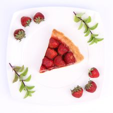 Free Strawberry Tart Stock Photos - 20278393