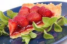 Free Strawberry Tart Royalty Free Stock Photo - 20279265