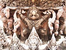 Garuda Statue Royalty Free Stock Photo