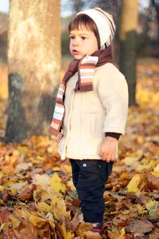 Free Little Kid Outdoors Royalty Free Stock Images - 20279609