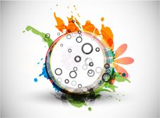 Free Abstract Vector Colorful Shapes Background Royalty Free Stock Image - 20279716