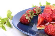 Free Strawberry Tart Royalty Free Stock Image - 20279746
