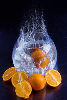 Free Orange Splash Stock Images - 20279814