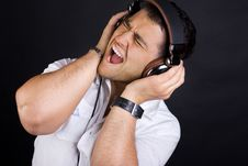 Free Image Of Handsome Male DJ Royalty Free Stock Photo - 20279945