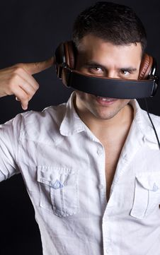Free Image Of Handsome Male DJ Royalty Free Stock Images - 20279999
