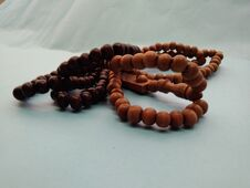 Free Moslem`s Rosary For Pray, Jakarta, Indonesia - 2020 Stock Image - 202785031