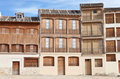 Free Old Houses In A Square In Peñafiel, Spain Stock Photo - 20281570