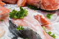 Free Raw Red Fish Stock Photography - 20284502