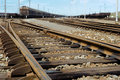 Free View On An Old Rusty Railway Junction Stock Image - 20285711