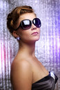 Free Young Woman Wearing Sunglasses Royalty Free Stock Photography - 20286577