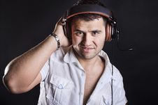 Free Image Of Handsome Male DJ Royalty Free Stock Image - 20280186