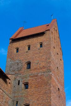 Free Trakai Island Castle Royalty Free Stock Photo - 20280305