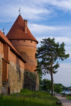 Free Trakai Island Castle Royalty Free Stock Image - 20280326