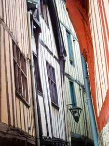 Free Narrow Streets Of Rouen, Normandy, France Royalty Free Stock Photography - 20280517