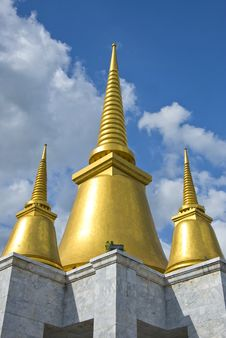 The Golden Pagoda Stock Image