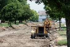 Free Residential Street Reconstruction Stock Image - 20280921
