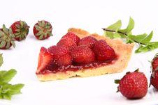 Free Strawberry Tart Royalty Free Stock Image - 20280936