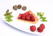 Free Strawberry Tart Stock Photos - 20281213