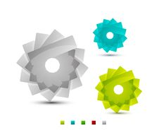 Free Vector Sticker Icons Royalty Free Stock Photos - 20281278