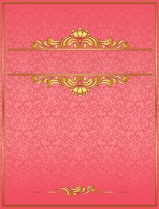 Free Red Vintage Blank Royalty Free Stock Photos - 20281328