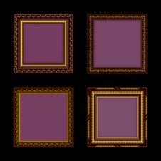 Free Set Of Frames Royalty Free Stock Photos - 20282048