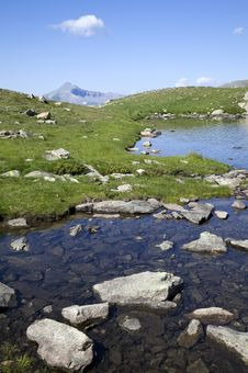 Free Mountain And Lake Of Lausfer Stock Photos - 20282093