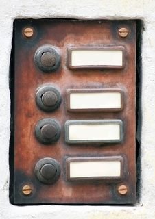 Free Old Entrance Panel Stock Image - 20282401