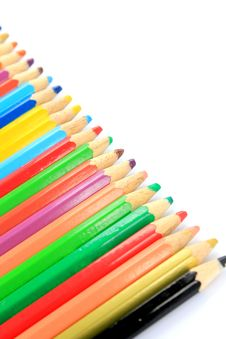 Free Color Pencil Stock Photo - 20283490
