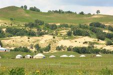 Free Landscape  Of   Grassland Stock Images - 20283524