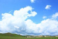 Free Landscape  Of   Grassland Royalty Free Stock Images - 20284089