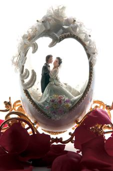 Free The Wedding Couple In A Carriage 2. Stock Photos - 20284713