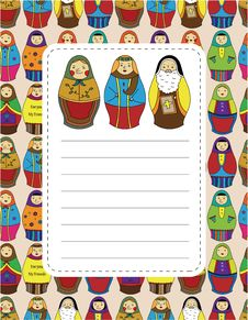 Free Cartoon Doll Card Stock Images - 20284964