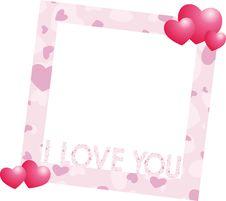 Free Valentine Frame Royalty Free Stock Image - 20285256
