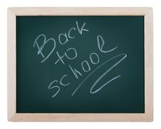 Free Blackboard With Text Stock Image - 20285821