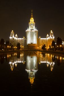 Free Moscow State University Stock Image - 20285851