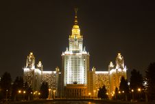 Free Moscow State University Stock Images - 20285884