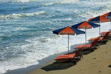 Free Beach In Crete Royalty Free Stock Photos - 20286278