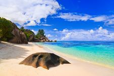 Free Beach Source D Argent At Seychelles Royalty Free Stock Photography - 20286337
