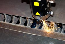 Free Close-up Photo Of The Industrial Laser Royalty Free Stock Photo - 20286355