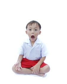 Free Cute Young Asian Boy Royalty Free Stock Photography - 20286887