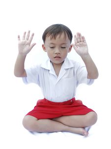 Free Cute Young Asian Boy Royalty Free Stock Photography - 20286947