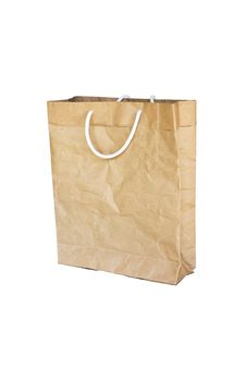 Free Brown Crumpled Paper Bag Royalty Free Stock Photo - 20286985