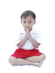Free Cute Young Asian Boy Stock Photo - 20286990