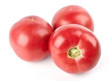 Free Three Tomatoes Royalty Free Stock Photo - 20287205