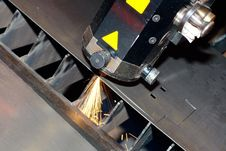 Free Close-up Photo Of The Industrial Laser Royalty Free Stock Photo - 20287225